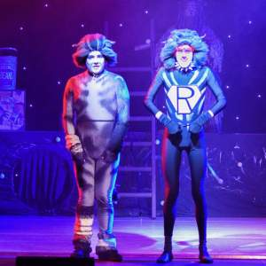 Chris (Munkustrap)  & Ciaran (Rumpus Cat) in CATS