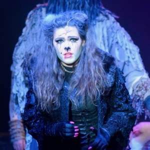 Cerys Wilkin as Grizabella in CATS
