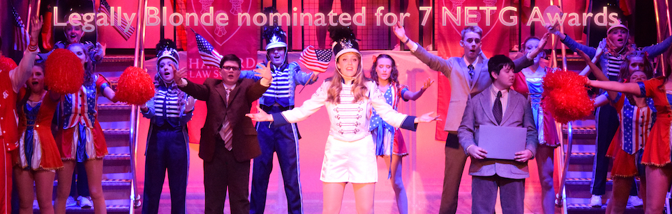 Legally Blonde nominated for 7 NETG Awards