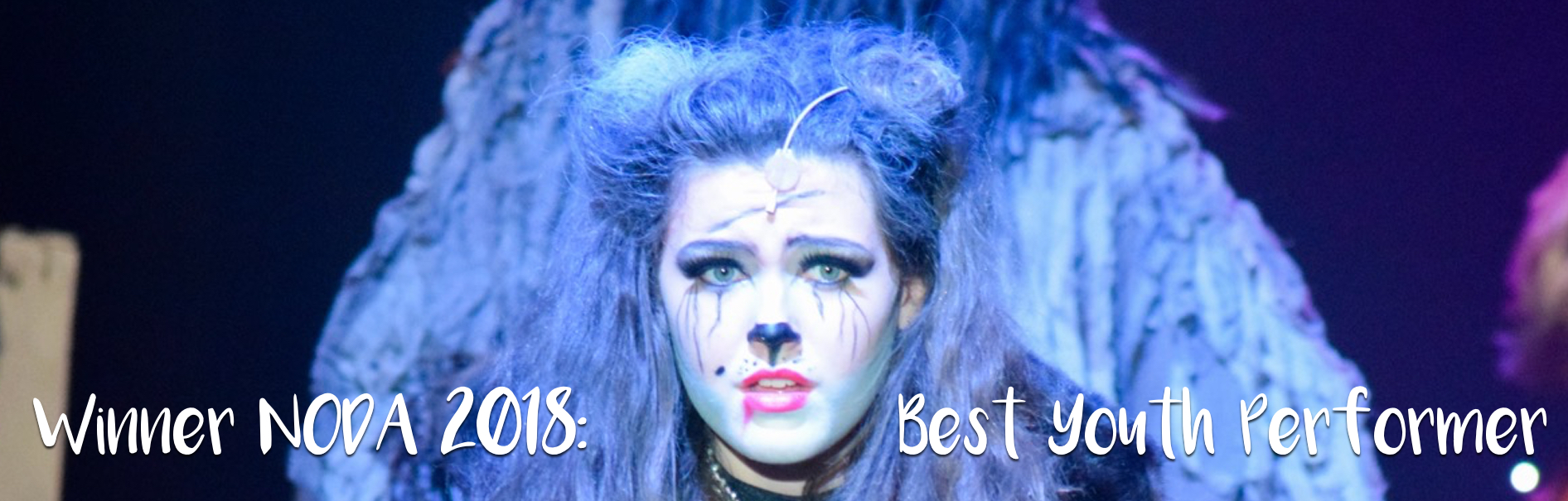 WOW NODA Winner - Cerys Wilkin, Grizabella in CATS